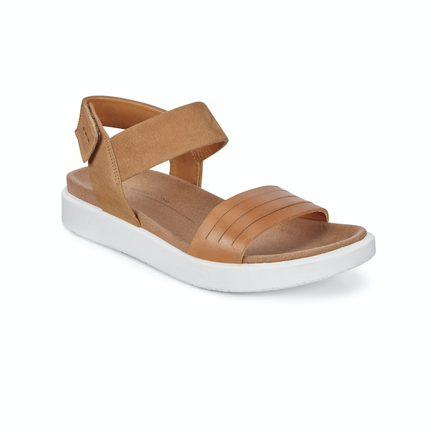 Ecco Flowt - Casual everyday sandals for city exploration.