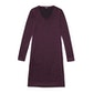 Viewing Merino Union Dress - Canadian Red Marl