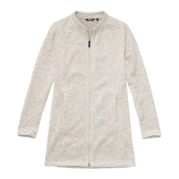 Isla Jacket - Cosy, longer-length fleece jacket for travel and everyday.