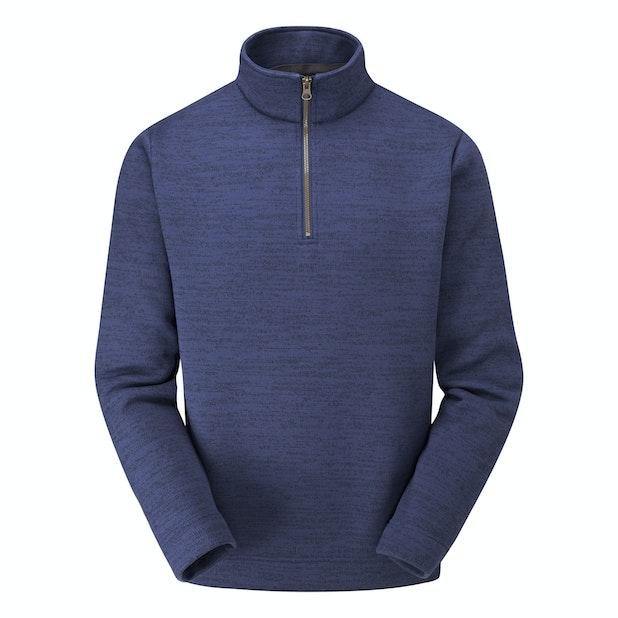 Borderline Zip Jumper - Classic mid-weight fleece with a ventilating neck zip.