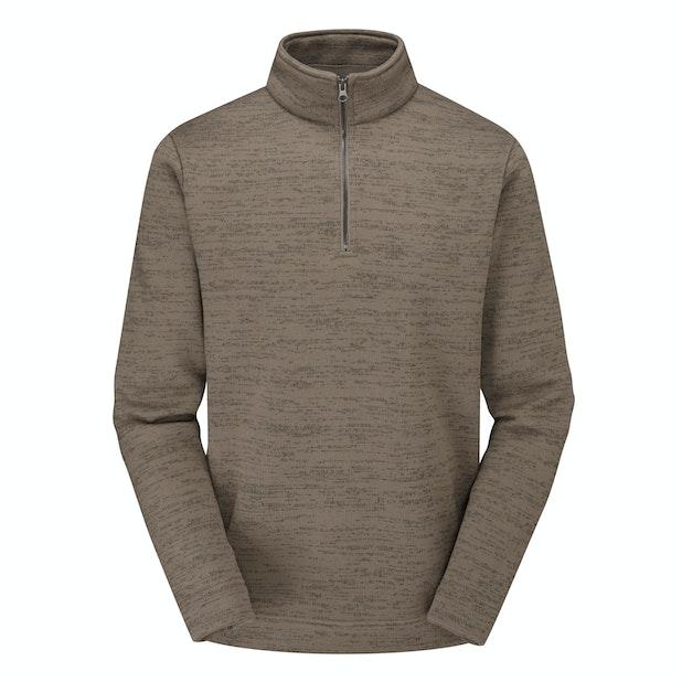 Borderline Zip Jumper - Classic mid-weight fleece with a ventilating neck zip.