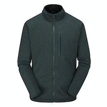 Technical fleece jacket with understated good looks.