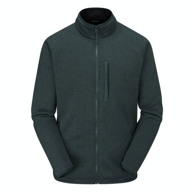 Bracken Jacket - Technical fleece jacket with understated good looks.