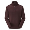 Viewing Shoreline Jumper - Mid-weight fleece jumper with buttoned neck opening.