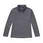 Viewing Lakeside Zip Top - Mid Grey Marl