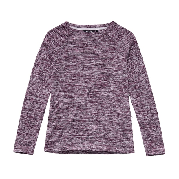 Betsy Crew - Warm, crew neck pullover for everyday and travel.