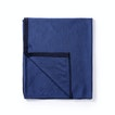View Extrafine Merino Travel Blanket - Atlantic Blue Marl