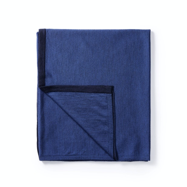 Extrafine Merino Travel Blanket - Versatile merino blanket, scarf, cover up or shawl.