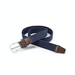 View Woven Stretch Belt - Pitch Blue