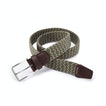 View Woven Stretch Belt - Dune/Willow
