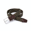 View Woven Stretch Belt - Dark Forest Green/Evergreen