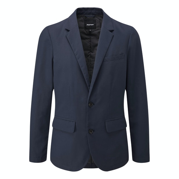 Winter Fusion Blazer - Single-breasted, 2-button wadded blazer.