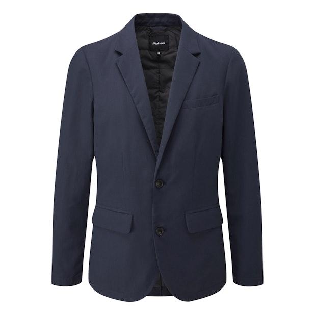 Winter Fusion Blazer - Single-breasted, 2-button wadded blazer.