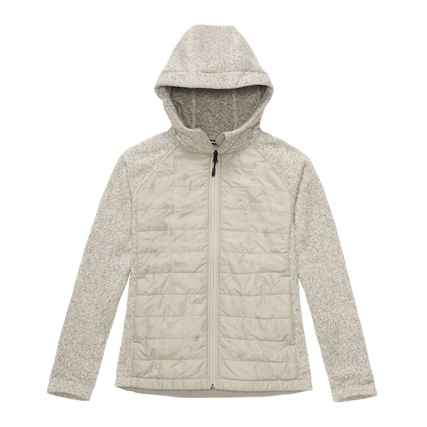 Spark Fleece Jacket - Ivory Marl