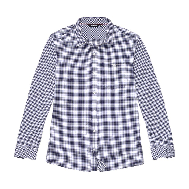 Newtown Shirt - Twilight Blue Gingham