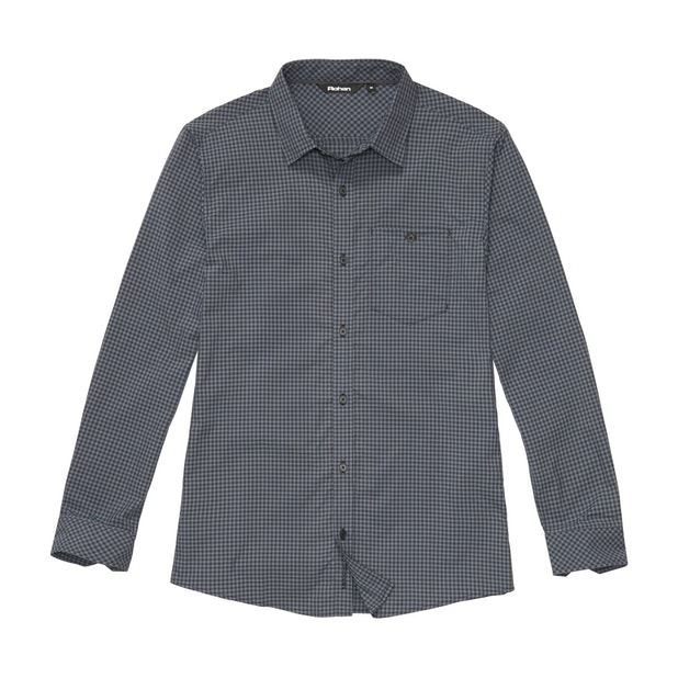 Newtown Shirt - Storm Cloud Gingham