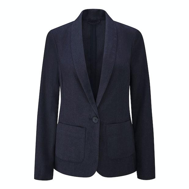 Malay Jacket - Smart, casual linen travel jacket.