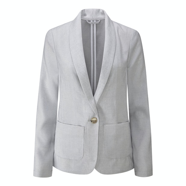 Malay Jacket - Smart, casual linen travel jacket.