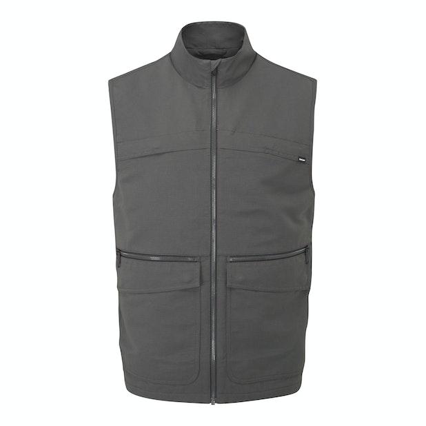 Frontier Vest - Rugged multi-pocketed travel vest.