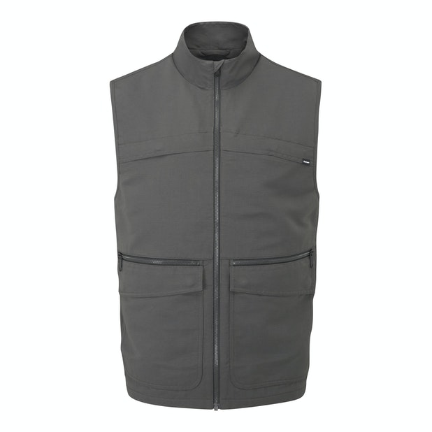Frontier Vest - Rugged multi-pocketed travel vest.