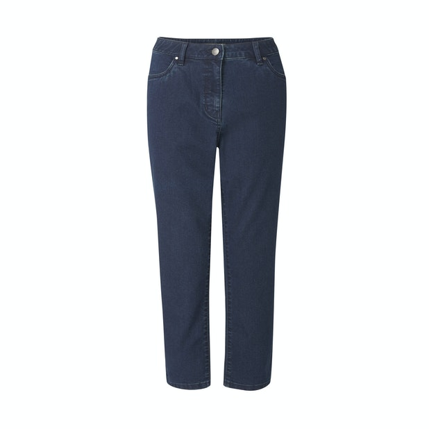 Jeans Capri - Perfectly normal jeans, just much cleverer and in a capri length cut.