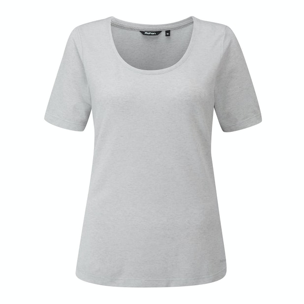 Malay T - Warm weather Performance Linen travel top.