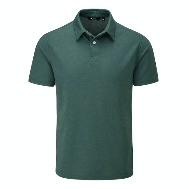 Maroc Polo - Performance Linen™ lightweight, easycare polo