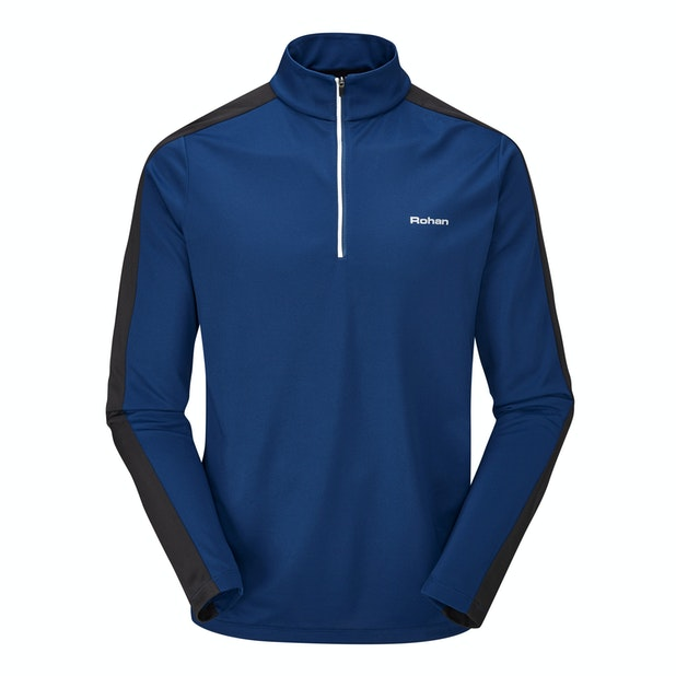 Core Silver Zip - Moisture-wicking, anti-bacterial performance base layer.