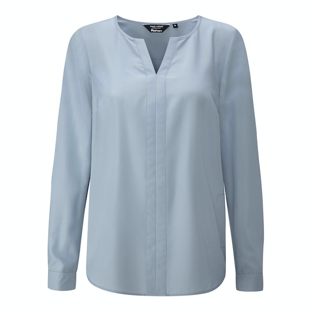 """Tian Shirt - <a href=""""/womens-anti-insect-clothing-for-outdoors-and-travel """" class=""""hide-us"""" style=""""color:#d3771c;font-weight:bold"""">Insect Shield offer available - click here*</a><span class=""""hide-uk"""">Versatile, stylish shirt with insect protection.</span>"""