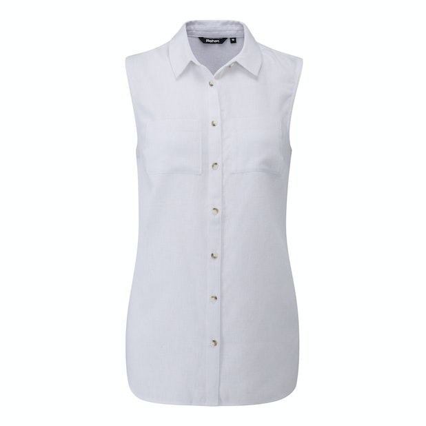 Malay Shirt - Performance Linen™ sleeveless shirt, perfect for hot weather.