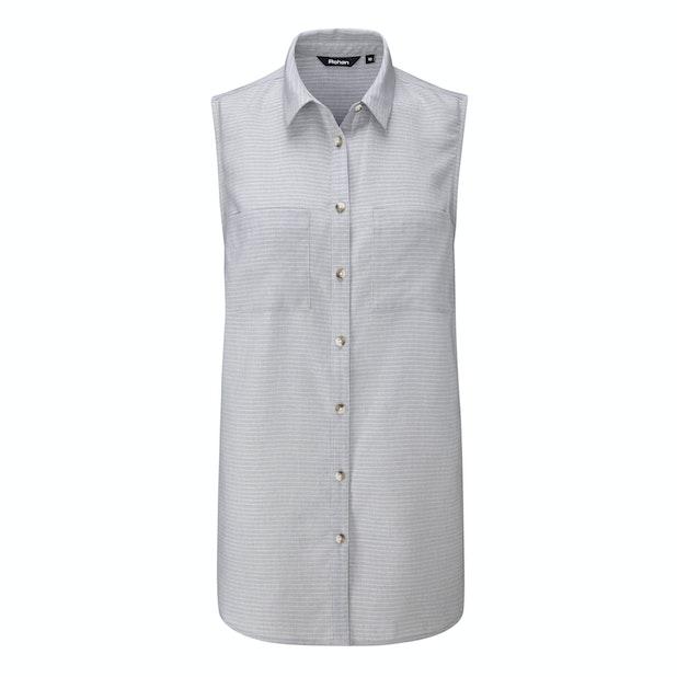Malay Shirt - Sleeveless linen shirt, perfect for hot weather.
