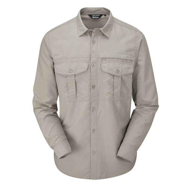 Expedition Shirt - Tough trekking shirt with UV and insect protection.