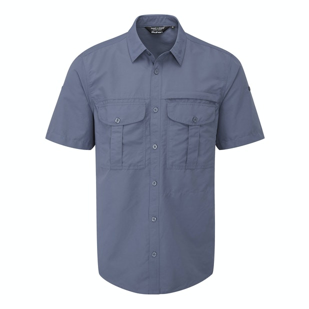 "Expedition Shirt - <a href=""/mens-anti-insect-clothing-for-outdoors-and-travel "" class=""hide-us"" style=""color:#d3771c;font-weight:bold"">Insect Shield offer available - click here*</a><span class=""hide-uk"">Expedition shirt with UV and insect protection.</span>"