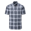 View Equator Shirt - Blue Shadow Check
