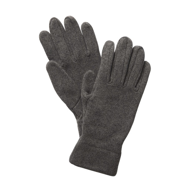 Pathway Gloves - Quick-drying knit-effect fleece gloves.