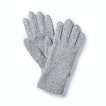 Viewing Pathway Gloves - Quick-drying knit-effect fleece gloves.