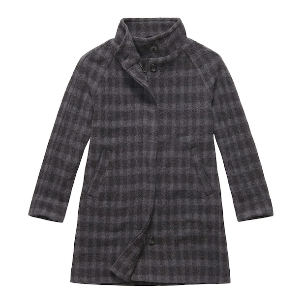 Cold Harbour Coat - Charcoal Check