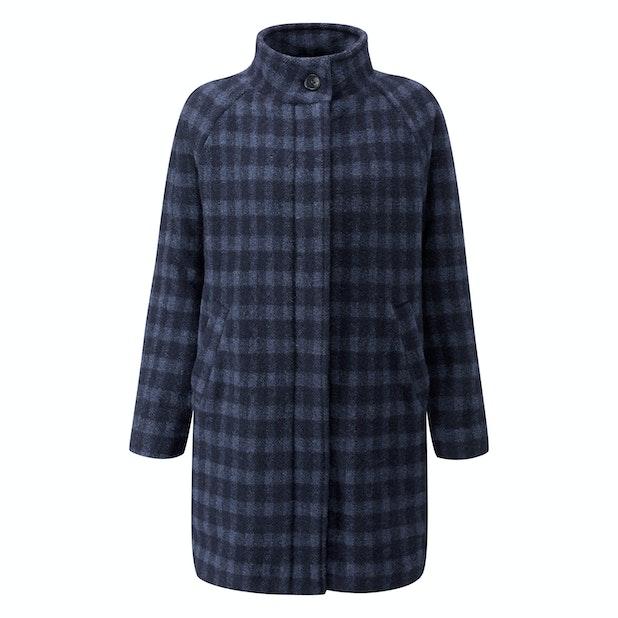 Cold Harbour Coat - Technical, machine washable, wool-blend coat.