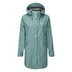 View Vapour Trail Long Jacket - Chalk Green