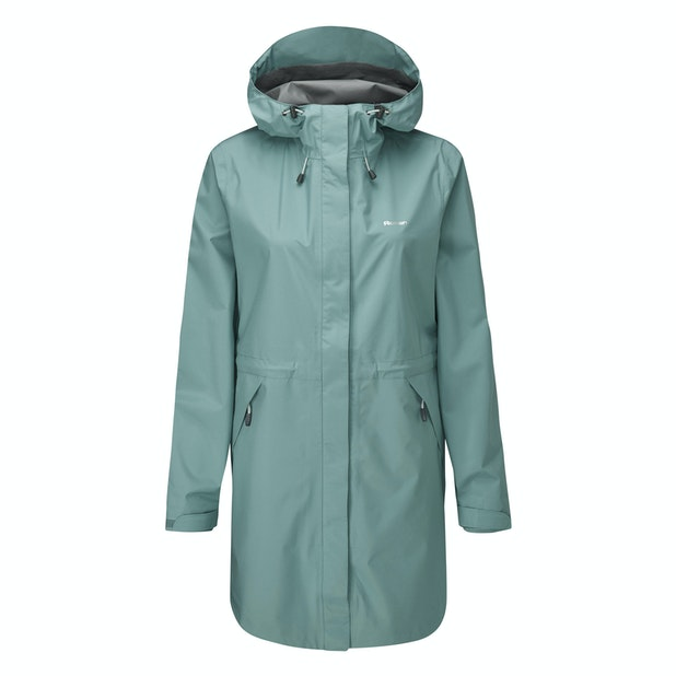Vapour Trail Long Jacket - Lightweight, packable waterproof jacket.