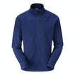 View Microgrid Stowaway Jacket - Seaport Blue