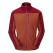 View Microgrid Stowaway Jacket - Pimento Orange/Port Red