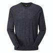 Viewing Extrafine Merino Knitted V Neck - Classic, 100% merino v-neck pullover.