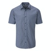 View Aura Shirt - Deep Navy Check