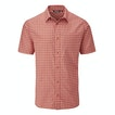 View Aura Shirt - Pimento Orange Check