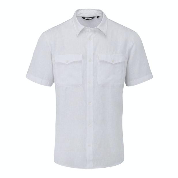 Maroc Shirt - Casual, comfortable, linen-blend shirt.
