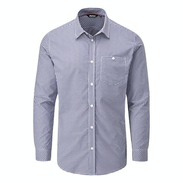 Newtown Shirt - Smart, crease-resistant, quick-drying travel shirt.
