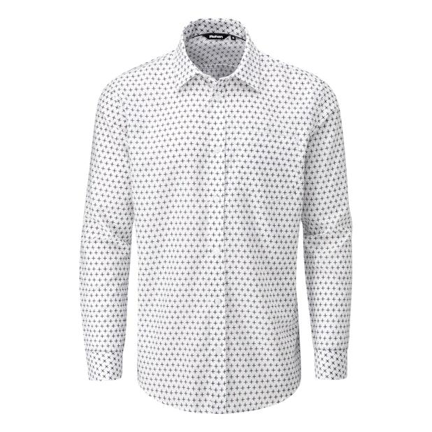 Worldwide Shirt - Stylish smart casual shirt in an eye catching print.