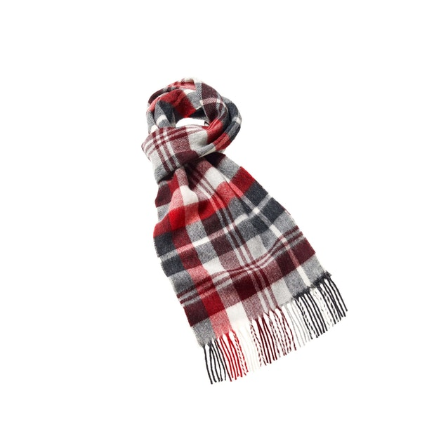 Bronte by Moon Easby Scarf  - 100% merino lambswool scarf.