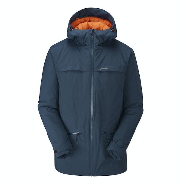 Fall Line Jacket - Heavy duty wadded waterproof jacket.
